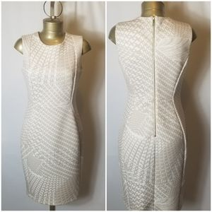 CALVIN KLEIN TAYLORED DRESS